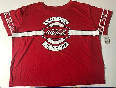 Coca-Cola Women's New York Graphic Print T-Shirt SIZE XXL (19)