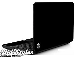 LidStyles BLACK Vinyl Laptop Protector Cover Skin Decal fits HP PAVILION G6