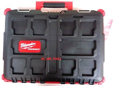 New Milwaukee 48-22-8424 Packout Stackable Tool For fear of the fact Chest For Drill & Impact