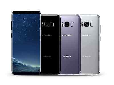 5.8'' Samsung Galaxy S8 G950U 64GB (Verizon / GSM /T-Mobile Unlocked) Smartphone