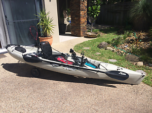 2015 Hobie Revolution 11 Sand Vantage seat  & $800 of accessories Wakerley Brisbane South East Preview