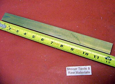 14 X 34 C360 Brass Flat Bar 12 Long Solid Mill Stock H02 .25 X .75x 12
