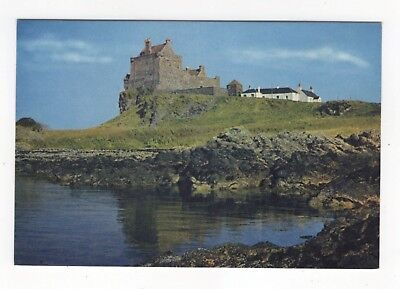 Duart Castle Isle Of Mull Scotland 1971 Postcard 953b