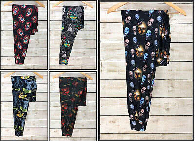 Horror Movie Jogger Pants Horror Villains Freddy Michael Myers Jason Chucky (Myer Womens)