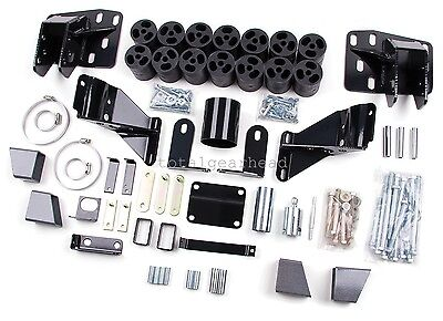 "2006-2008 Dodge Ram 1500 2WD/4WD 3"" Zone Offroad Body Lift Kit USA [D9345]"