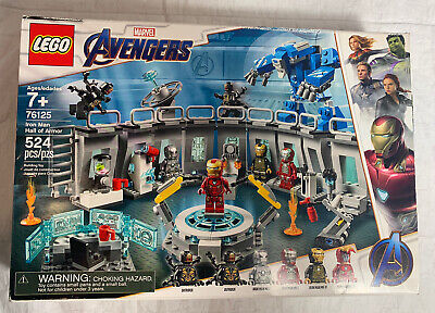 LEGO MARVEL AVENGERS ENDGAME IRON MAN HALL OF ARMOUR 76125 NEW IN BOX