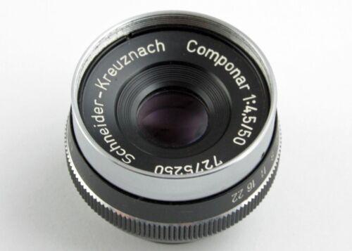 196774 Vintage Schneider-Kreuznach Componar 50mm f/4 Enlarging Lens Genuine