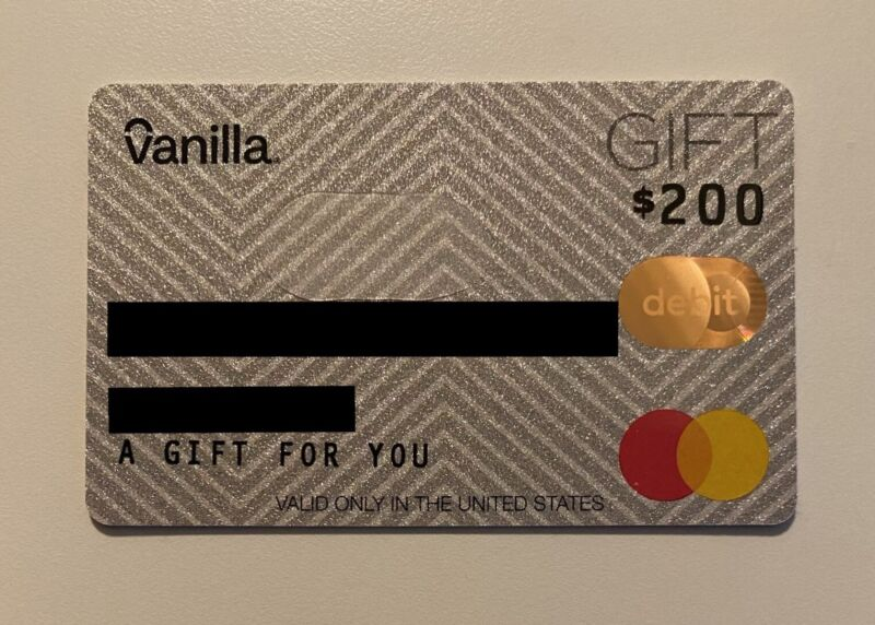 $200 GIFT CARD FOR ANYTHING/ANYWHERE IN US!  NO EXPIRATION DATE!