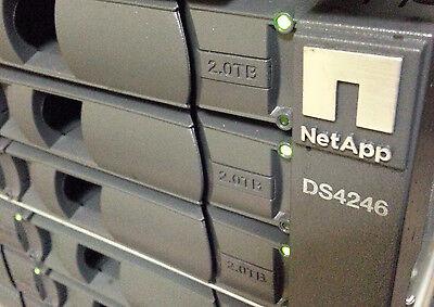 Netapp Ds4246 Disk Array Shelf W  24X 2Tb 7 2K X306a 2X Iom6 Controllers 2X Psu