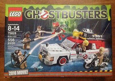 New LEGO Ghostbusters 2016 Movie Ecto-1 & 2 Set 75828
