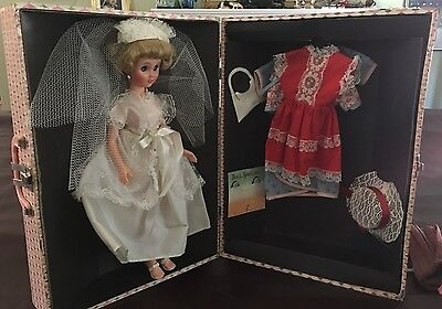 TOBY TEEN Fashion Doll Barbie Competitor Gift Set Roberta Co. c.1962 RARE!