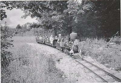 Huff Puff   Whistle Railroad   1959   Story Land  Glen Nh    A96 2   Post Card