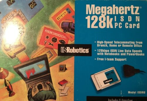 USRobotics Megahertz 128k ISDN PC Card
