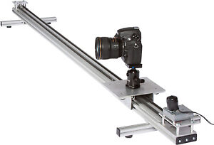 Motorized 6 foot camera dolly slider time lapse camera motion Motorized video slider