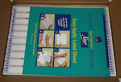 Case Lot Avery 16059 Translucent Page Dividers 5 Tab 25 Sets Per Case