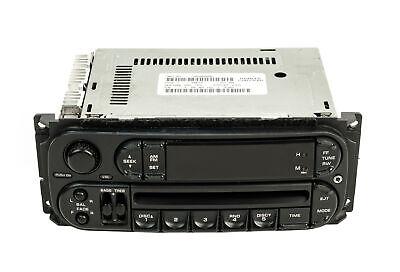 Dodge Caravan Radio 2002-2004 AM FM CD Upgraded With Auxiliary Input RBK Slider