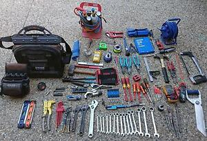 Various hand tools and veto tool bags Marleston West Torrens Area Preview