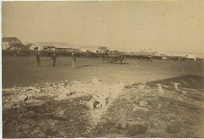 Used, Rare Photo Of Market Place Johannesburg South Africa c1880s Only 7 Months Old for sale  Shipping to South Africa