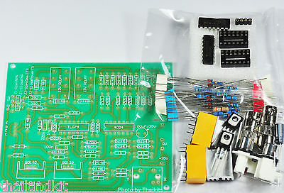 Bjt Transistor Curve Tracer Adapter Pcb Board X-y Oscilloscopes Un-assembled Kit