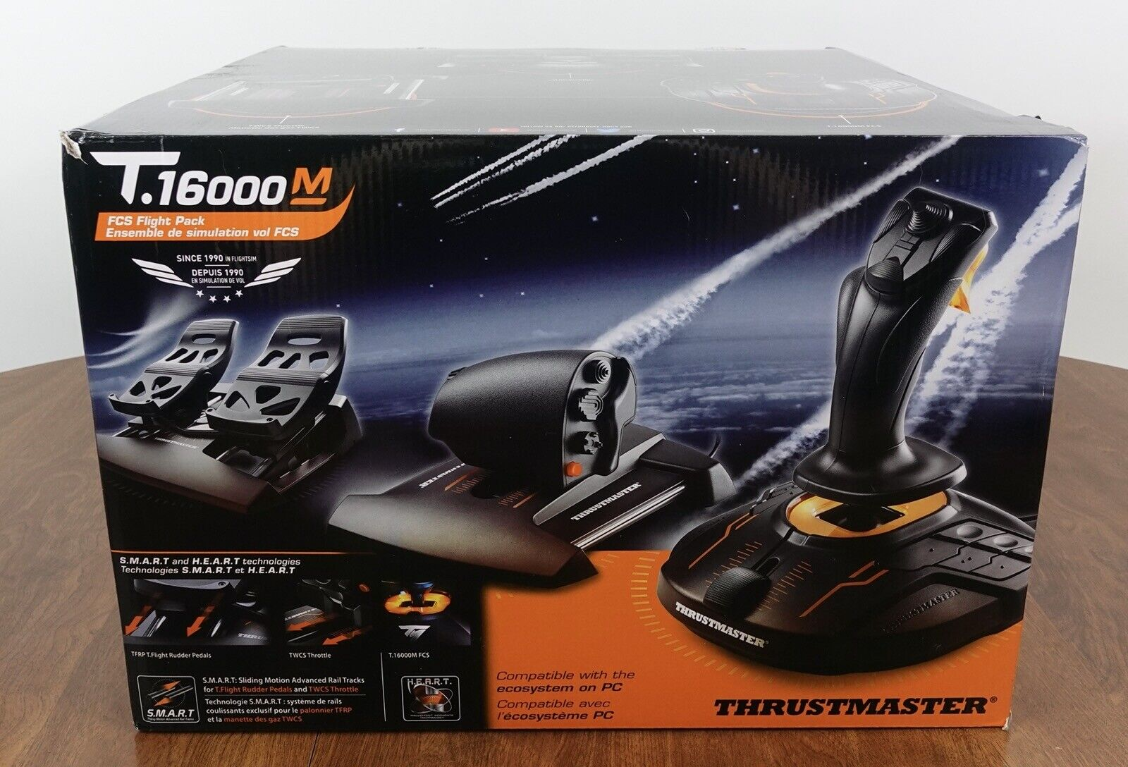 IN HAND Thrustmaster T16000M FCS Flight Pack - $349.99