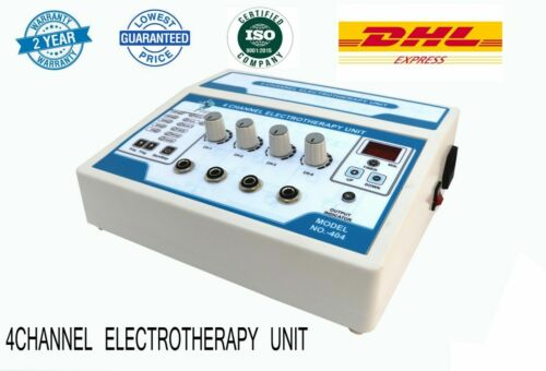 Prof. Electrotherapy ABS Cabinet Stress Relief Therapy 4 channel unit Equipment