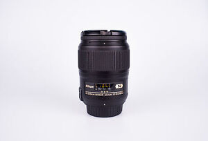 Nikon Micro-Nikkor 60 mm F/2.8 AS G SWM AF-S IF N M/A ED Lens