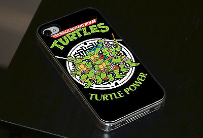 Teenage Mutant Ninja Turtles Retro Handyhôlle Passt iPhone 4 4s 5 5s 5c 6