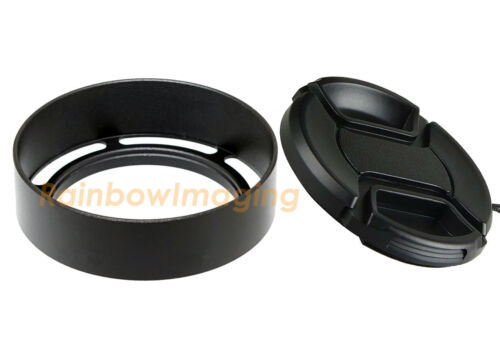 Metal 39mm Vented Screw-in Lens Hood for Leica Leitz Zeiss Voigtlander Lens