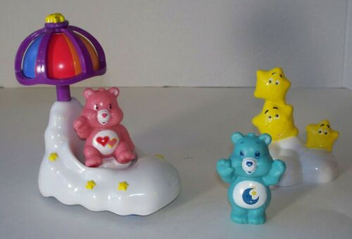 Care Bears Care-A-Lot Umbrella Set with Bedtime and Love-a-lot Bear