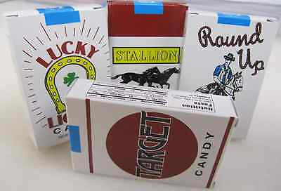 retro Old Fashioned CANDY CIGARETTES 4 PACK LOT Fresh from Brand New Case! Soda](Retro Candy)
