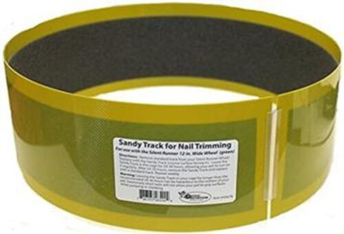 "Sandy Track (for Silent Runner 12"" Wide) - Nail Trimming Exercise Wheel Track"