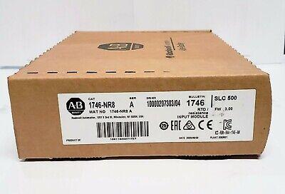 Allen-bradley 1746-nr8 Ser A 3.00 Slc500 Rtd Input Module Factory Seal 062020