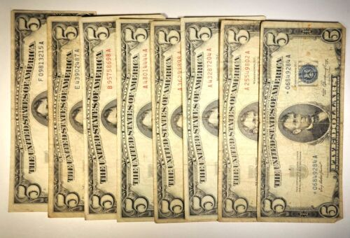 $5 Various Notes and Series  K233