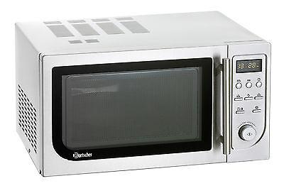 Bartscher 610835 Gastro  Mikrowelle mit Heißluft und Grill Mikrowellengerät NEU