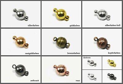 INWARIA Magnetverschluss stark Verschluss Kettenverschluss Schmuckverschluß MV-1 Magnetverschluss
