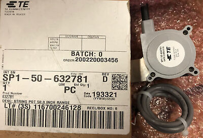 Sp2-50 Te Connectivity Angular And Linear Position Sensor New