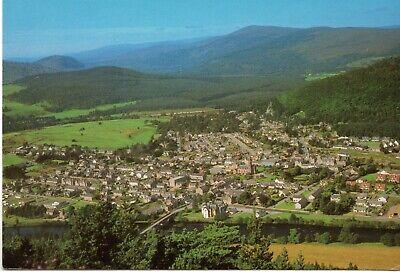 00959 Postcard showing Ballater from Craig Choilleach, Aberdeenshire