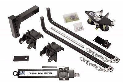 RV Reese Pro Series 49901 Pro Series Round Bar Weight Distribution Kit 550#