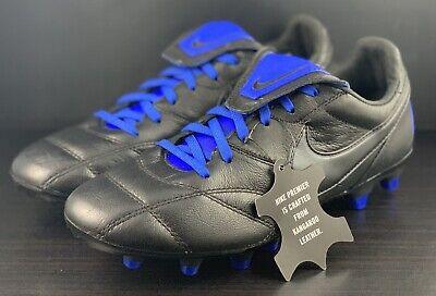 b37e9faef NEW Nike Premier II FG Black Blue Kangaroo Soccer Cleats 917803-040 Men s  Size 6