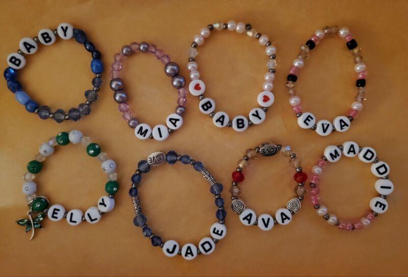 Reborn Baby bracelets homemade custom 4 u