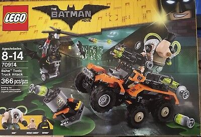 The LEGO Batman Movie Bane Toxic Truck Attack 2017 (70914)