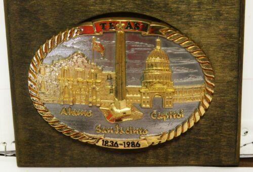 Texas Sesquicentennial Belt Buckle 1836-1986 New Old Stock Nice!