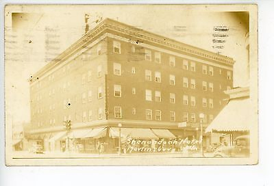 Shenandoah Hotel RPPC Martinsburg WV Rare Antique Photo ca. 1930s