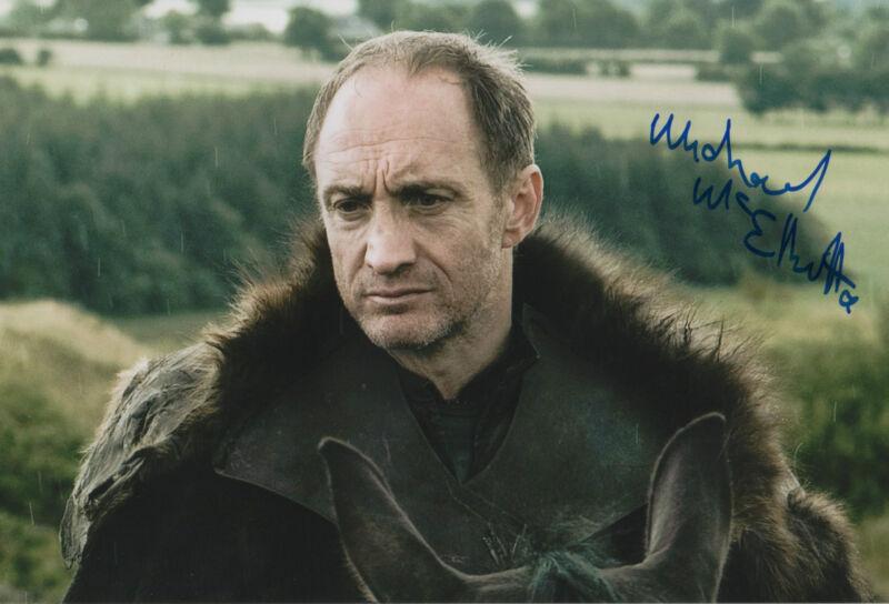 "Michael McElhatton ""Game Of Thrones"" Autogramm signed 20x30 cm Bild"