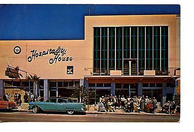 Hospitality House Hotel Car St Petersburg Florida Vintage Advertising Postcard