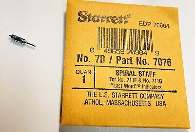 Starrett 7076 7b Spiral Staff For 711f And 711g Last Word Dial Indicators