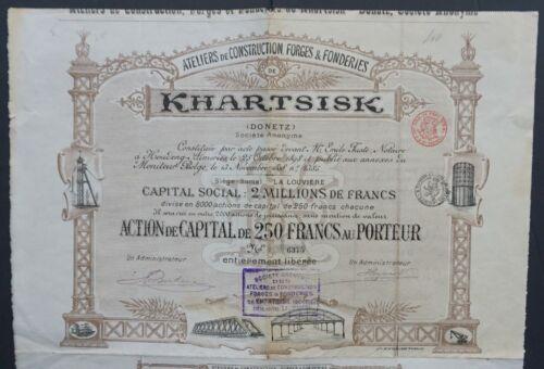 Russia / Ukraine - Metal Construction Co. Khartsisk at Donetz (Donetsk) -1898