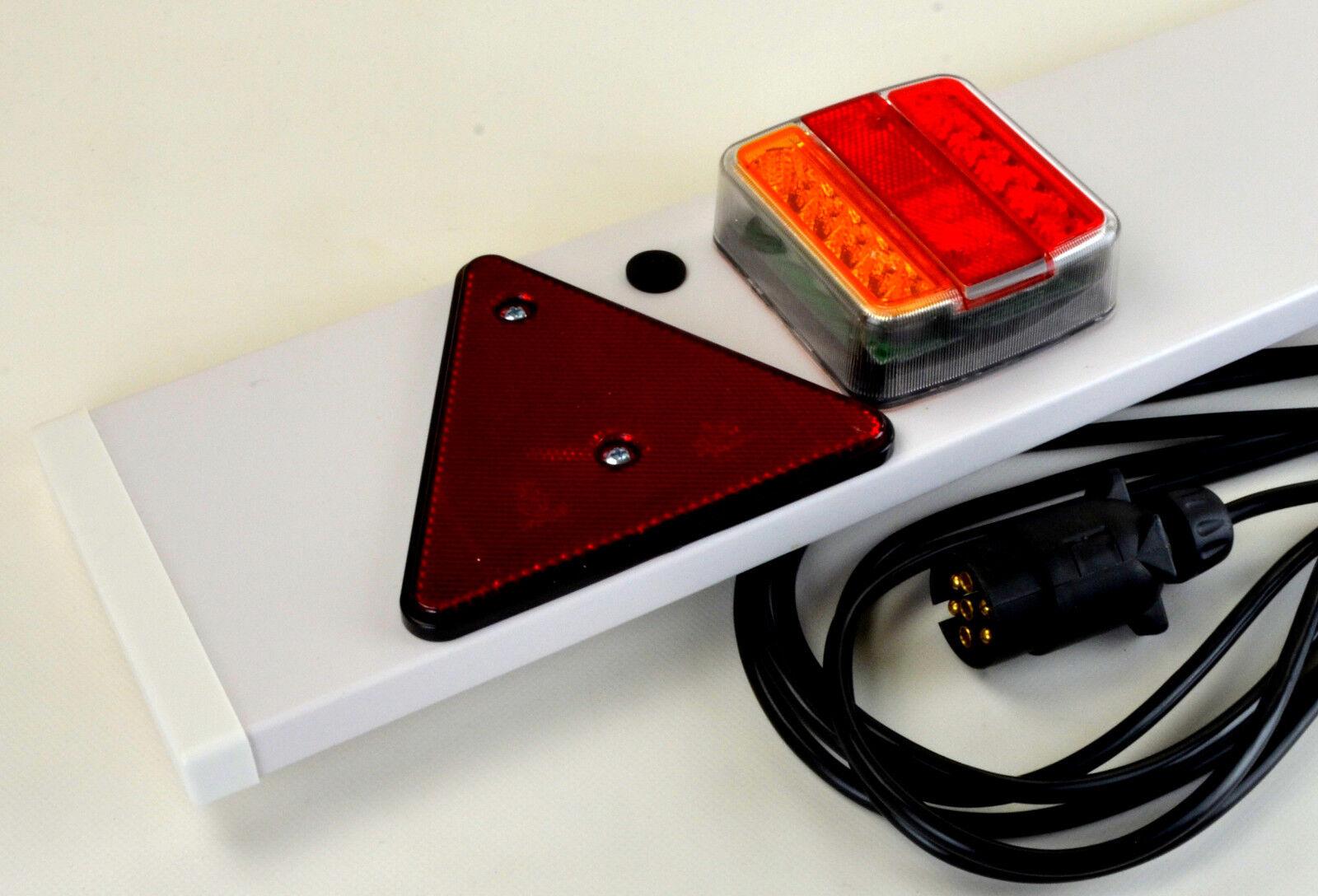 LED PKW Anhänger Leiste E-Prüfzeichen Rücklicht
