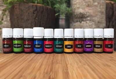 New Sealed Authentic Young Living Essential Oils 15Ml 10Ml  5Ml Free Shipping