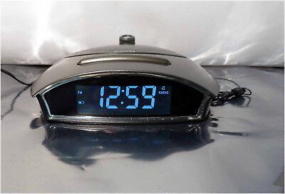 Homedics SS-4510-CA Soundspa Projector Autoset Alarm Nature Sounds Clock Radio